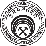 The Korean Society of Mineral and Energy Resources Engineers Logo